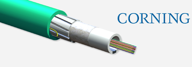 12 F Ribbon Riser Fiber Optic Cable- Corning