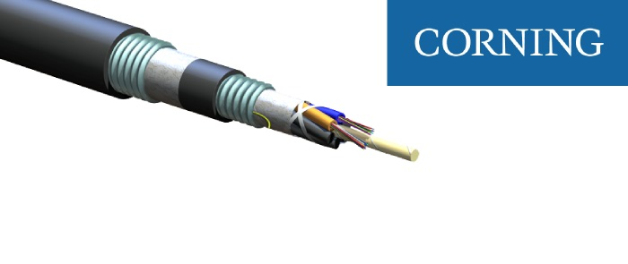 ALTOS® Lite™ Loose Tube, Gel-Free, Double-Jacket, Double-Armored - Corning Optical Cable