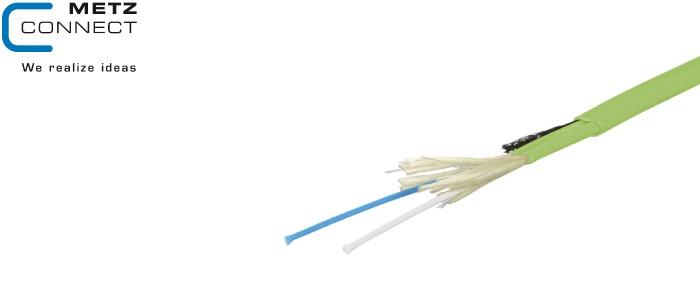کابل فیبر نوری zipcord زیپ کورد